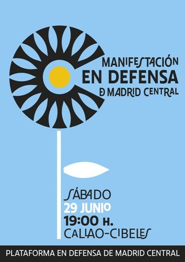 Manifestacion en defensa Madrid Central