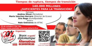 140.000 MILLONES ¿SUFICIENTES PARA LA TRANSICIÓN? @ https://www.youtube.com/user/attactv/live